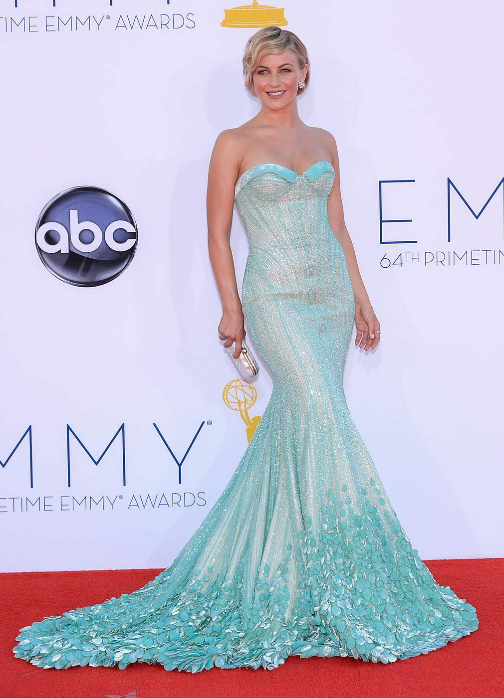 Julianne Hough - 2012 Emmy Awards, Red Carpet Looks