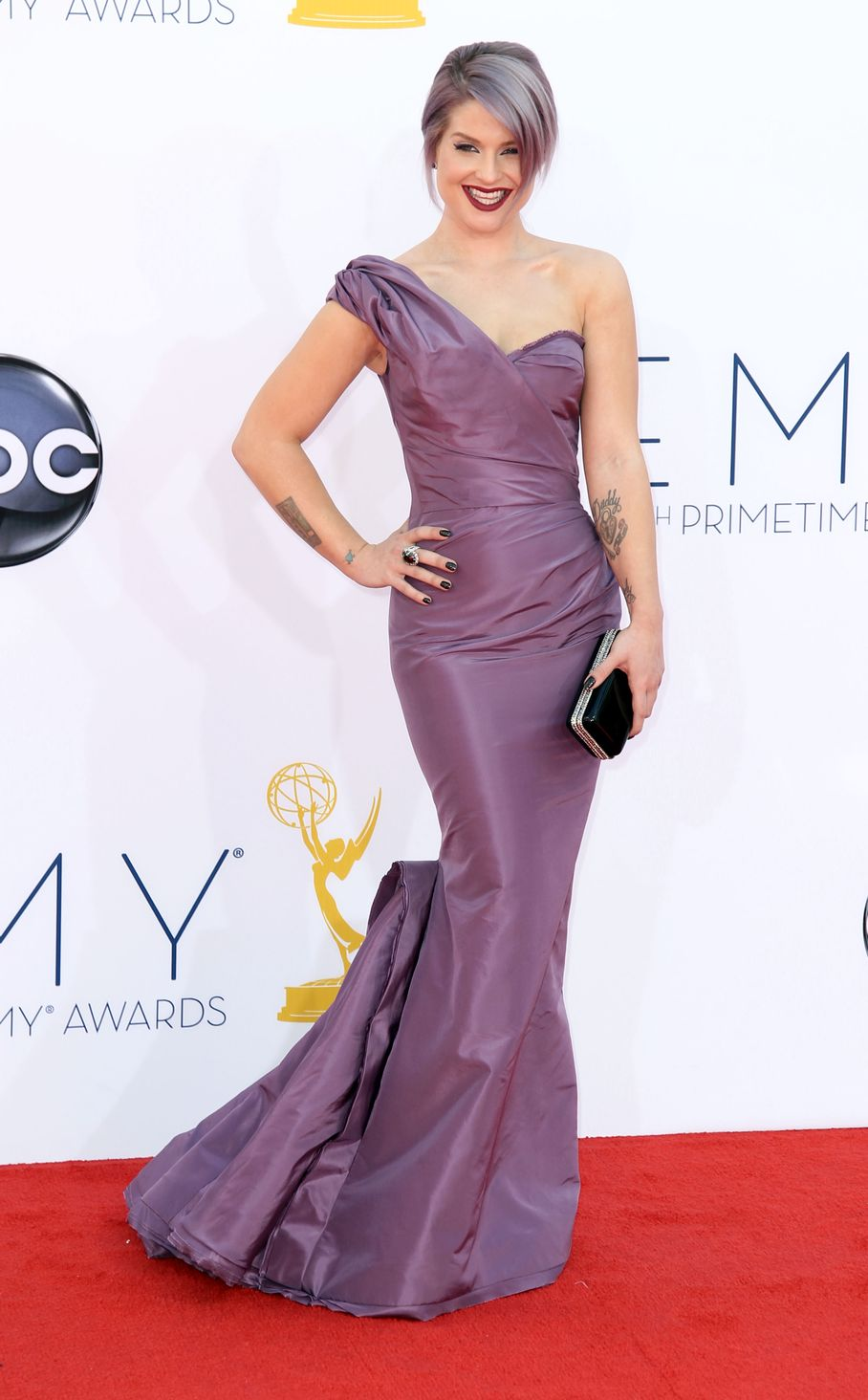 Kelly Osbourne - 2012 Emmy Awards, Red Carpet Looks