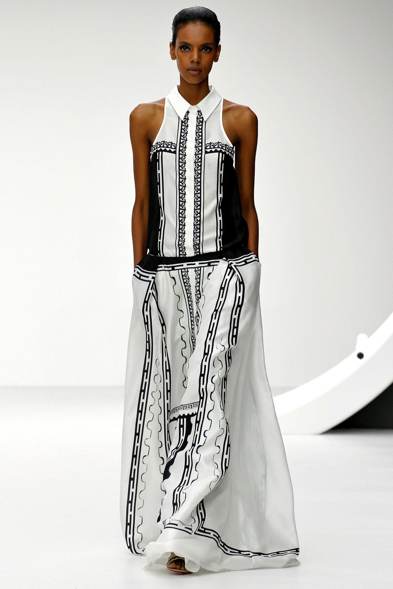 Mary Katrantzou - London Fashion Week, 2013 Spring