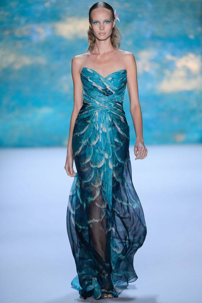 Monique Lhuillier - Spring 2013, New York Fashion Week