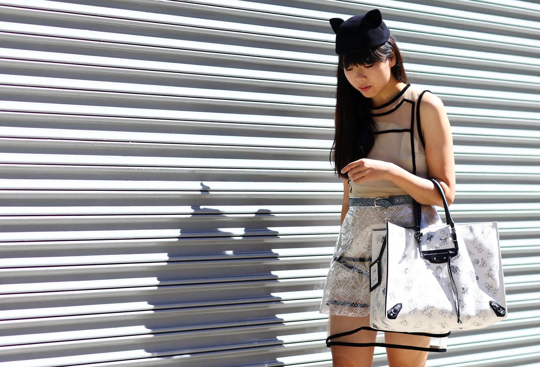 Street Style at New York Fashion Week Spring 2013 - Susie Bubble