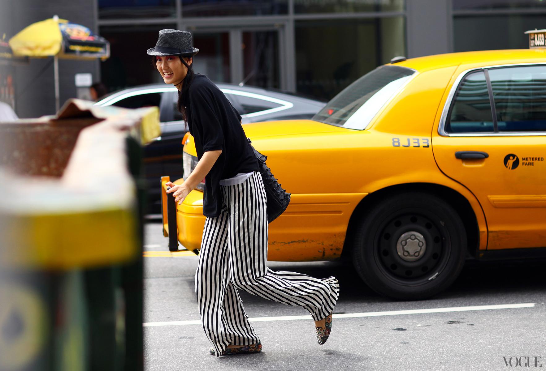 Street Style - New York Fashion Week, Spring 2013