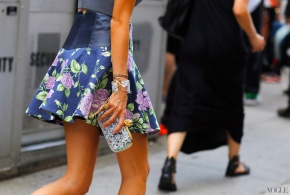 Street Style At New York Fashion Week Spring 2013! Details Opulence & Luxury!