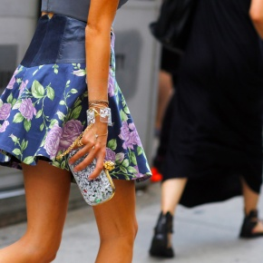 Street Style At New York Fashion Week Spring 2013! Details Opulence &Luxury!