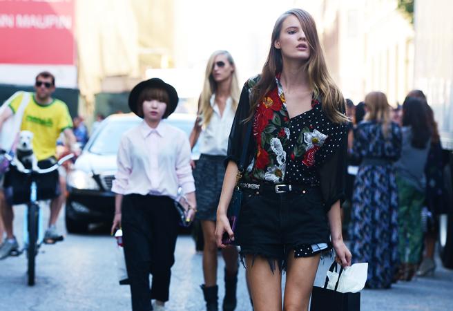 street style new york fashion week spring 2013 funky