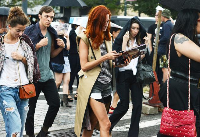 Street Style at New York Fashion Week Spring 2013