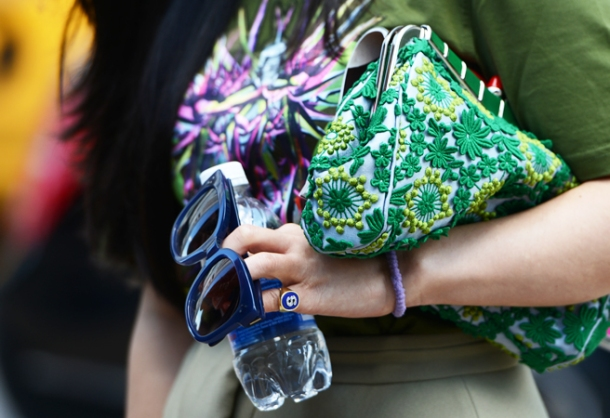 Street Style - New York Fashion Week, Spring 2013, details close-up