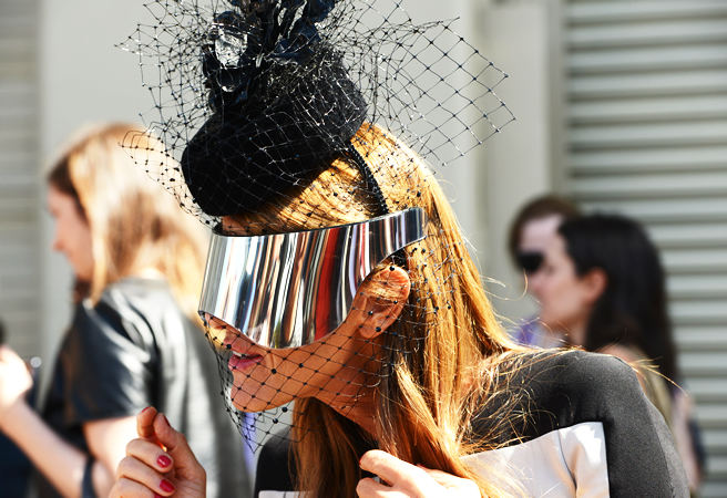 Street Style at New York Fashion Week Spring 2013 - Anna Dello Russo