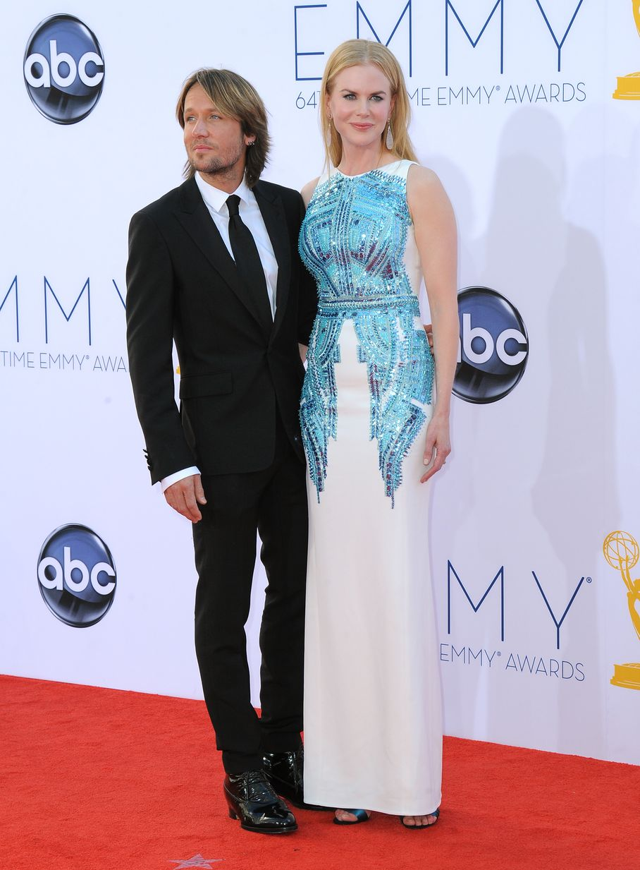 Nicole Kidman - 2012 Emmy Awards, Red Carpet Looks