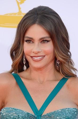 Sofia Vargara makeup & hair - 2012 Emmy Awards