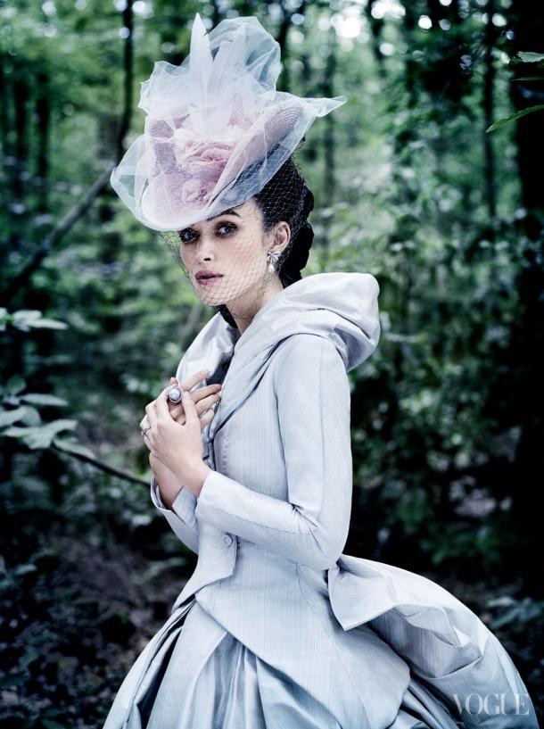 Keira Knightley in Anna Karenina Inspired Editorial - Vogue