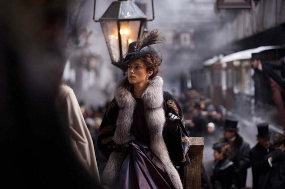 Keira Knightely as Anna Karenina
