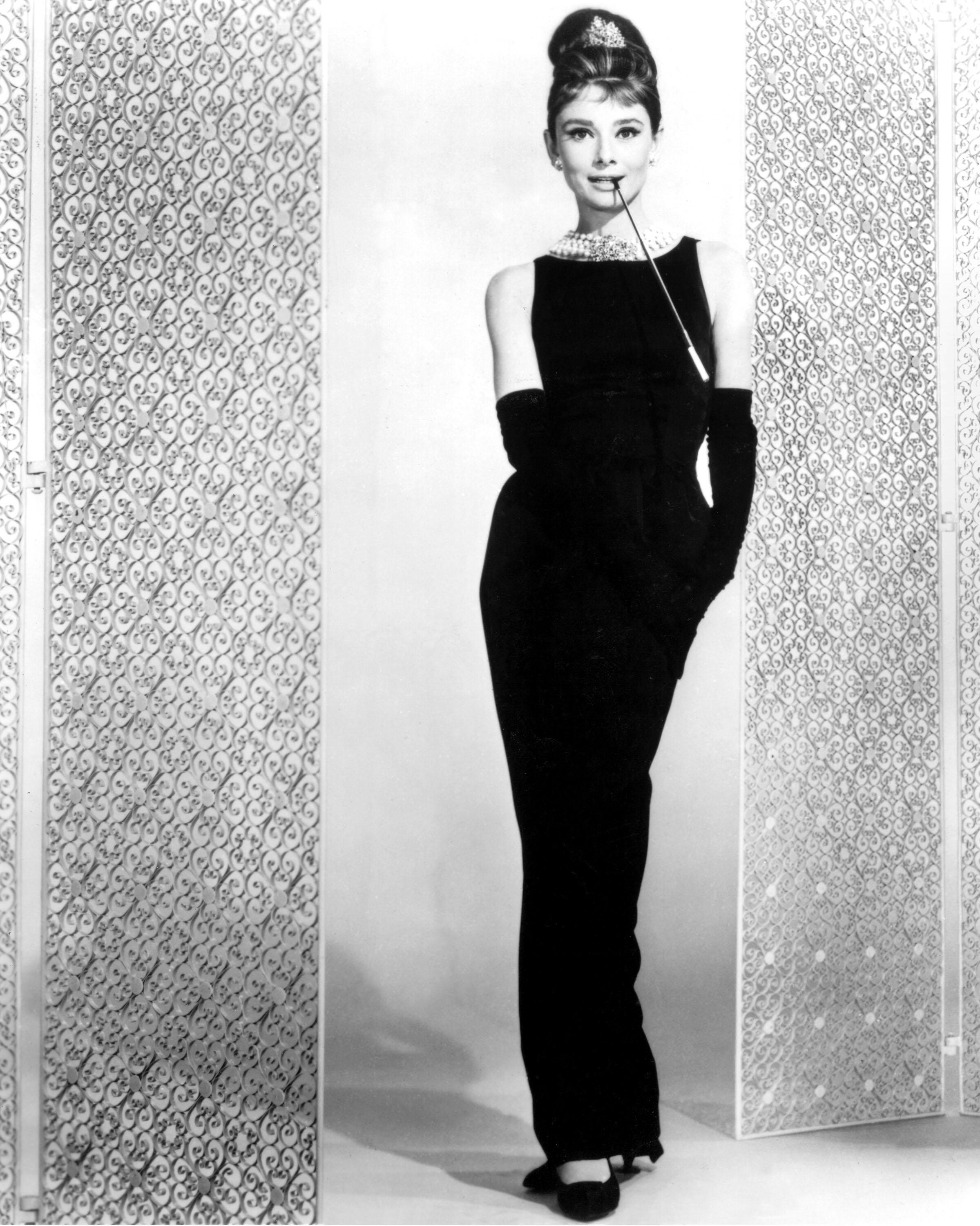 Audrey Hepburn Style Icon - Givenchy black dress from Breakfast At Tiffany's