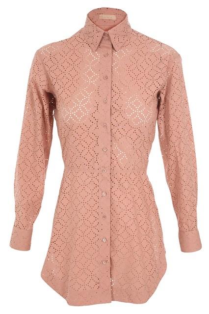 Azzedina Alaia Anna Karenina Inspired Shirt via Vogue