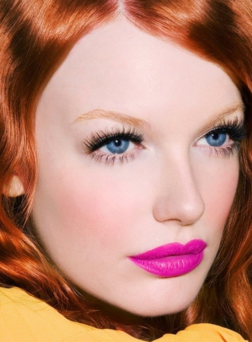 Beauty Look - Pink Lipstick