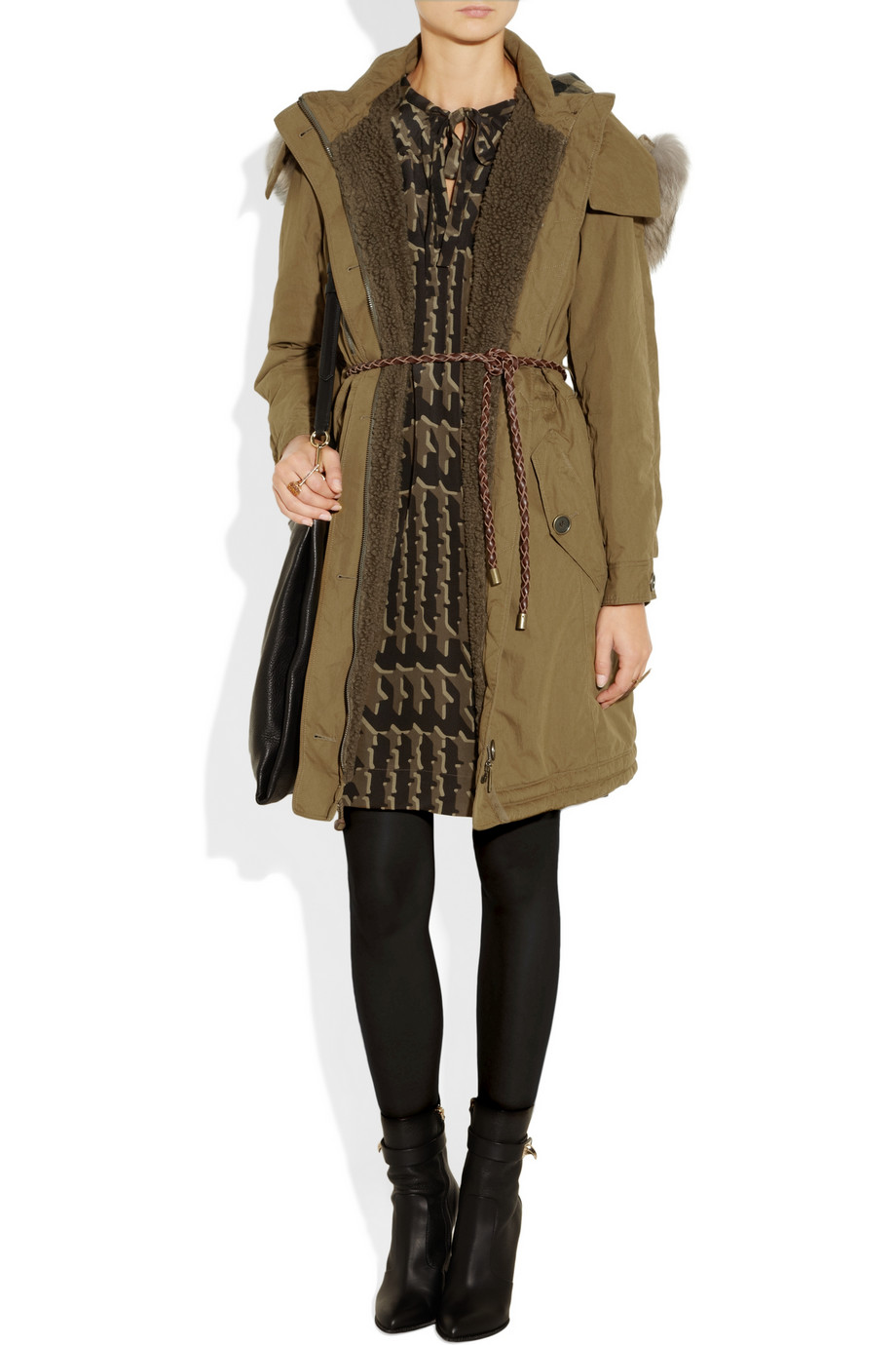 burberry parka 2013 winter fashion What To Wear This Winter? Is Parka The It Coat Of 2012/2013?