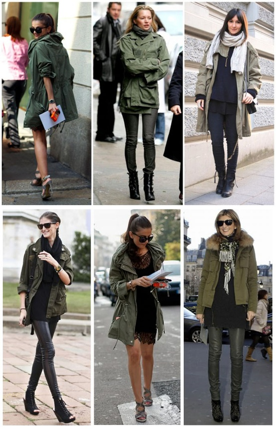 Celebrities in Parkas; Looks & Styles