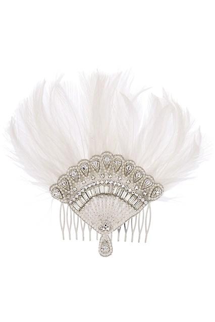 Anna Karenina Inspired Fan via Vogue