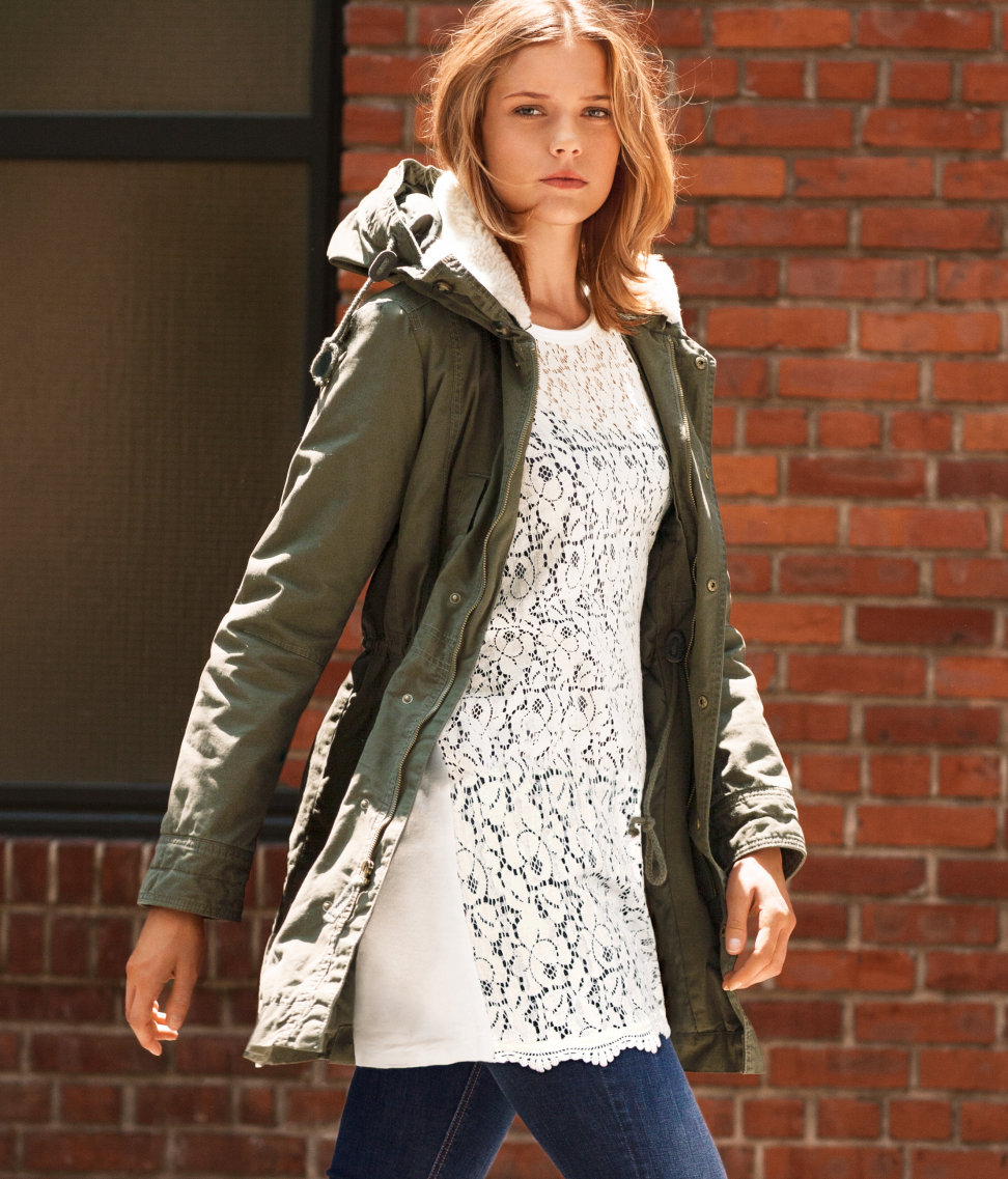 hm parka 2013 winter fashion What To Wear This Winter? Is Parka The It Coat Of 2012/2013?