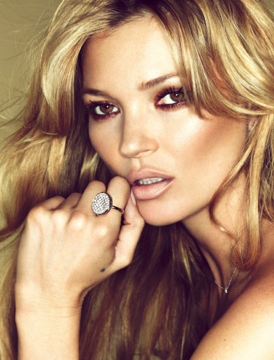 Kate Moss Nude Lips