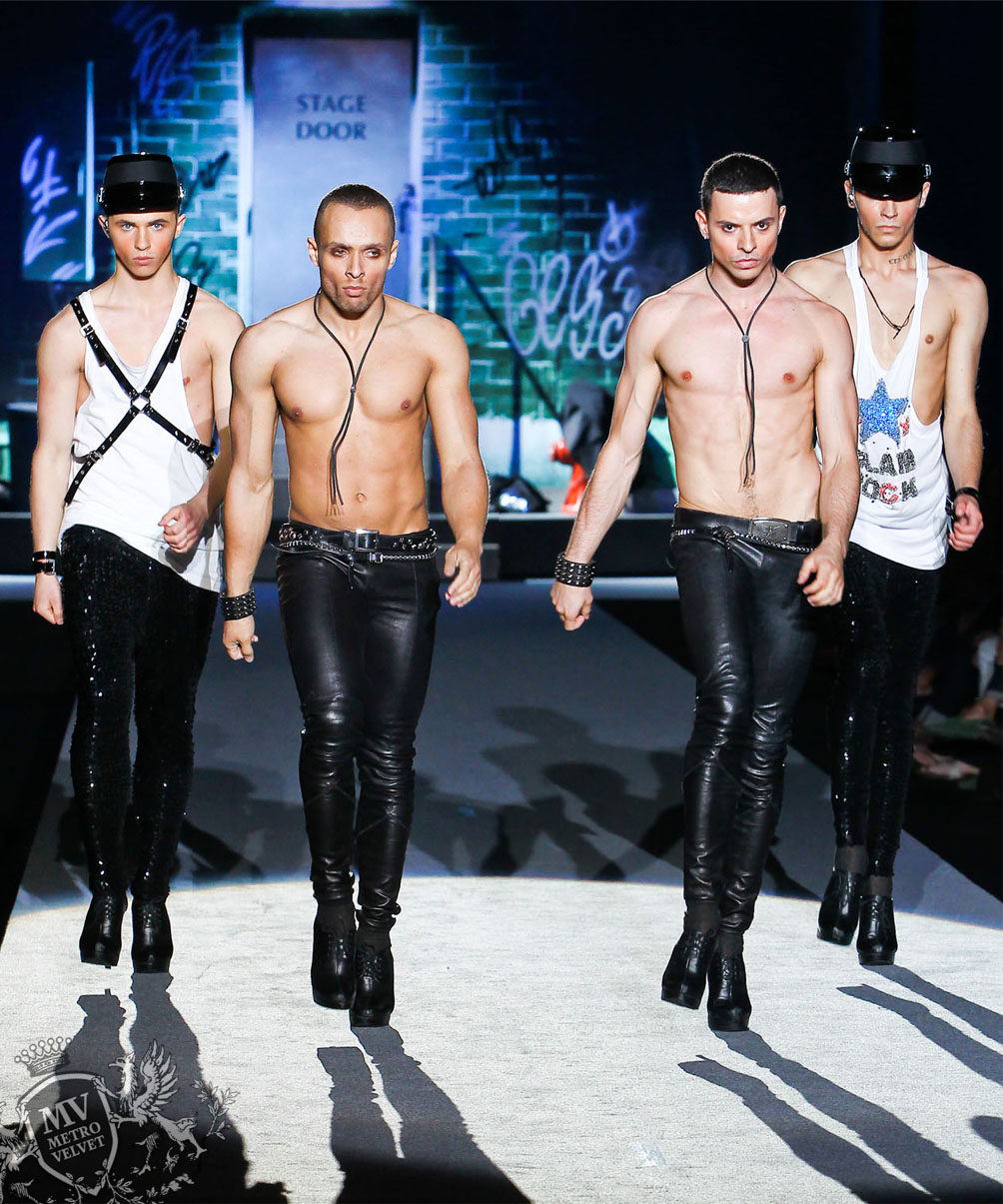 Kazaky Boys at Dsquared Show
