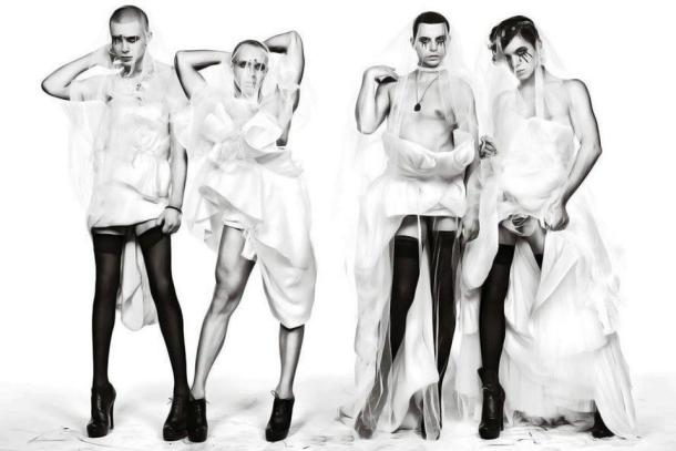 Kazaky Boys for V Magazine