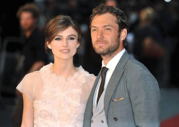 Keira Knightley & Jude Law at Anna Karenina - London Film Premiere