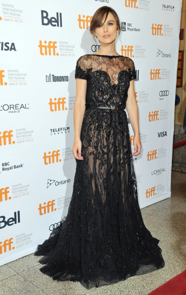 Keira Knightley at Anna Karenina Premiere - Red Carpet - 2012 Toronto International Film Festival