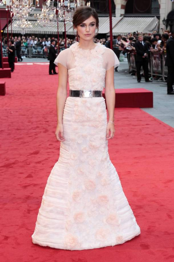 Keira Knightley at Anna Karenina - London Film Premiere
