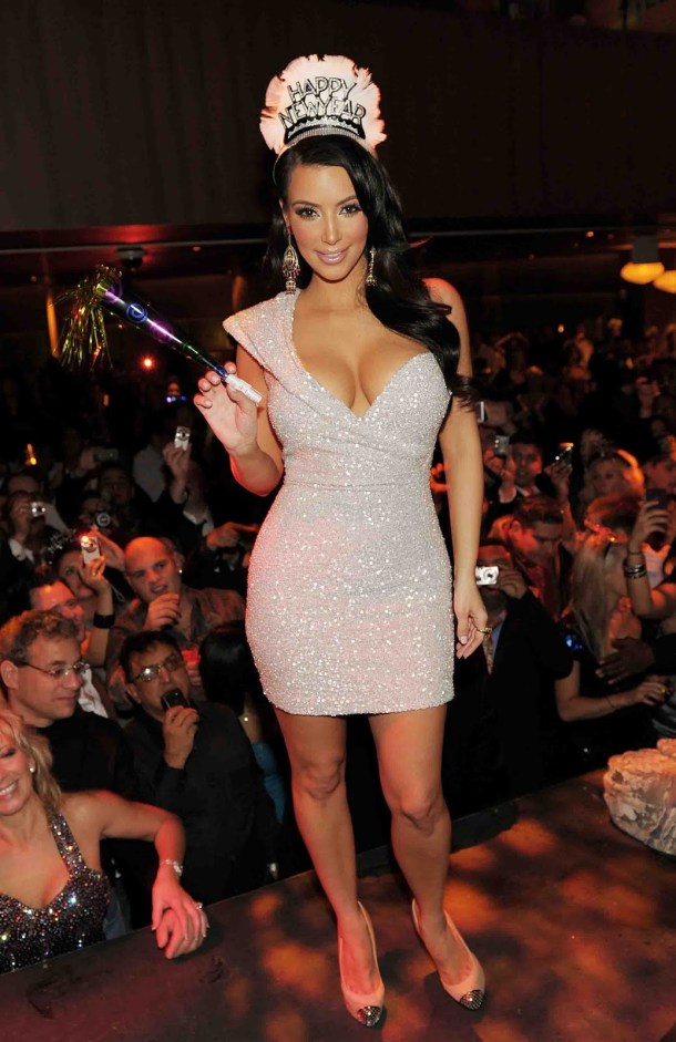 Kim Kardashian Style - Glam Mini Dress