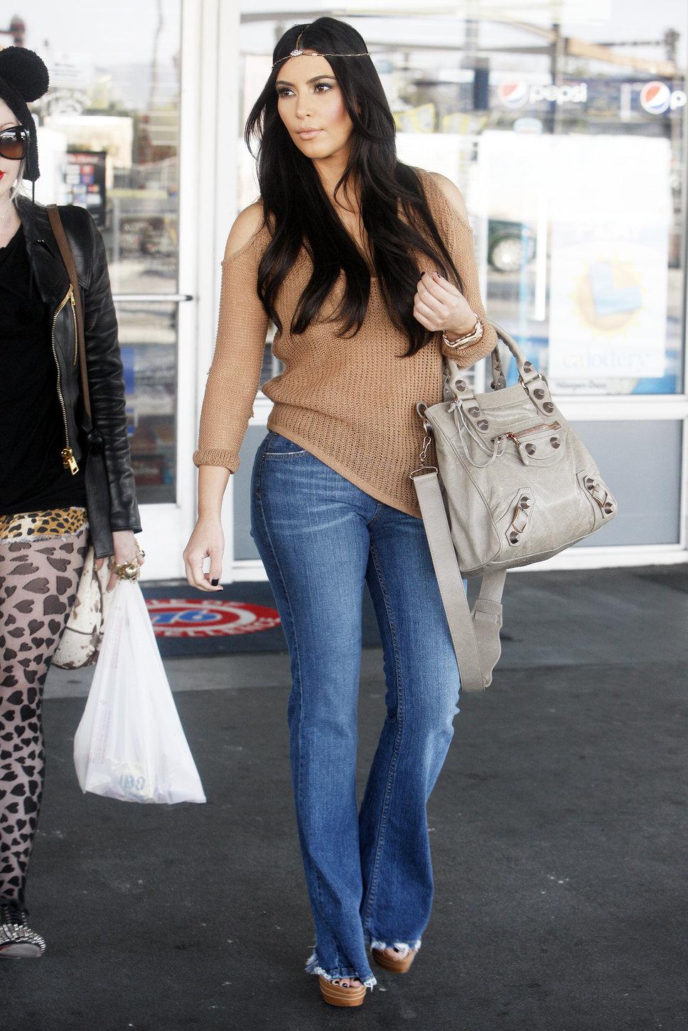 Kim Kardashian Bohemian Style