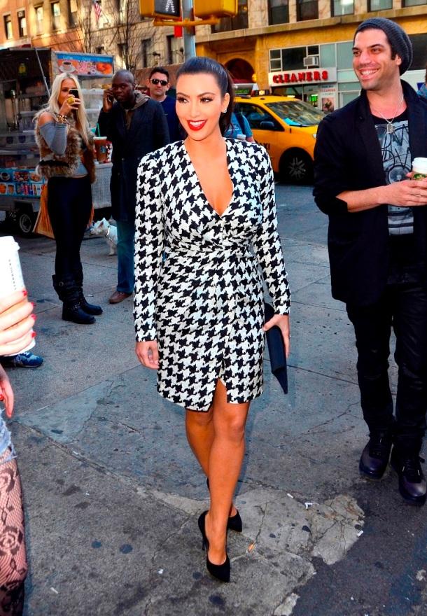 Kim Kardashian Style - Salvatore Ferragamo