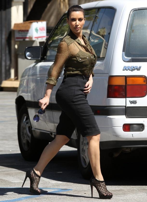 Kim Kardashian Style - Shoes