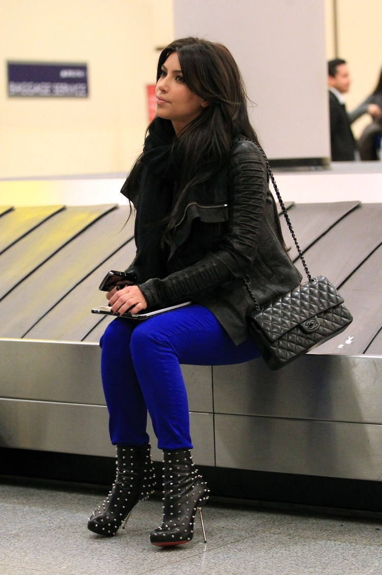 Kim Kardashian J Brand Jeans