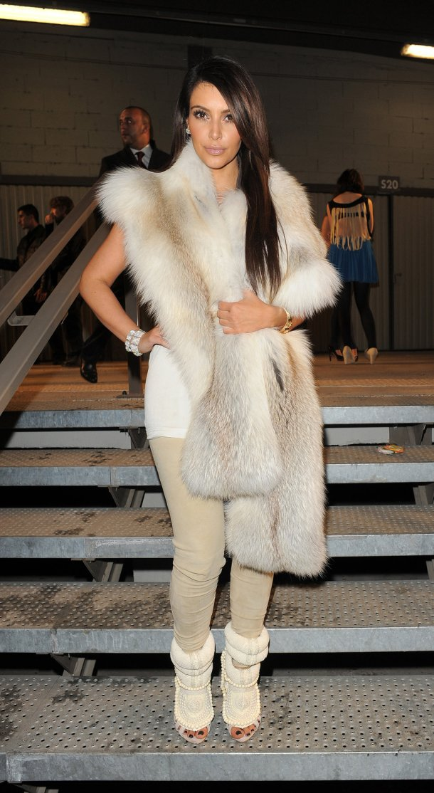 Kimberly Kardashian Style - Fur