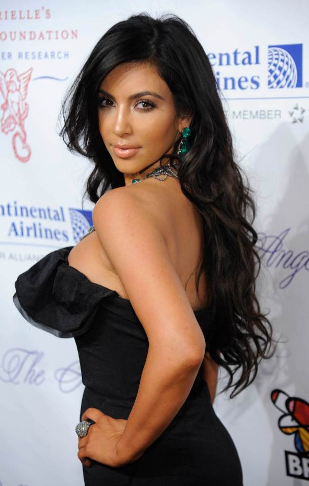 Kim Kardashian Makeup, Hairstyle, Beauty