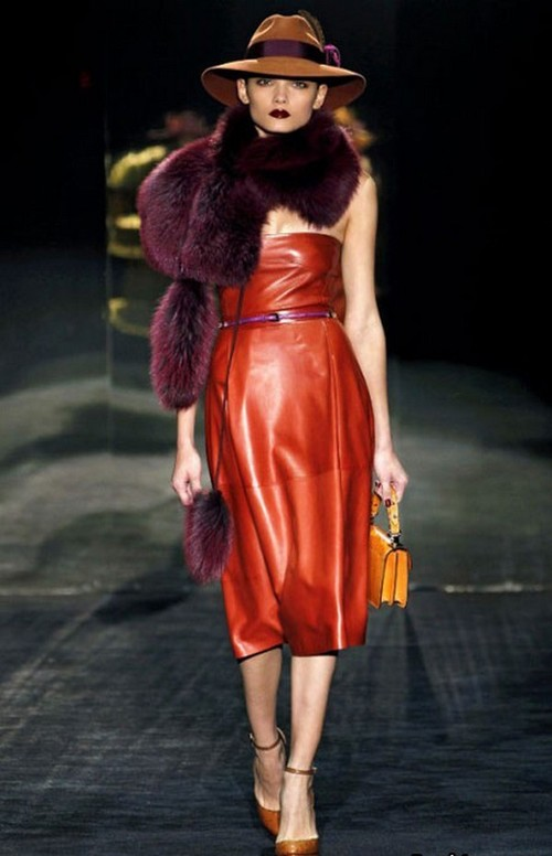Leather Trend - Autumn Winter 2012-2013