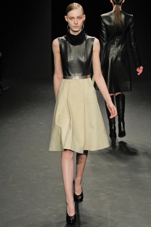 Leather Trend  - Autumn Winter 2012-2013; Calvin Klein