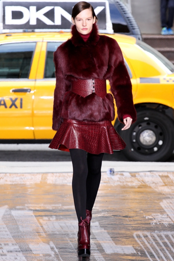 Leather Trend  - Autumn Winter 2012-2013; DKNY