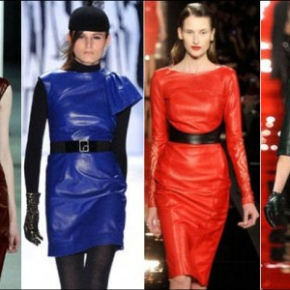 Leather Takes Over Autumn Winter 2012-2013! S&MTrend?