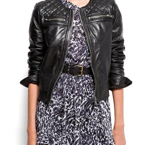2012 Fall Fun & Statement Look! Animal Print Shoes & Black LeatherJacket!