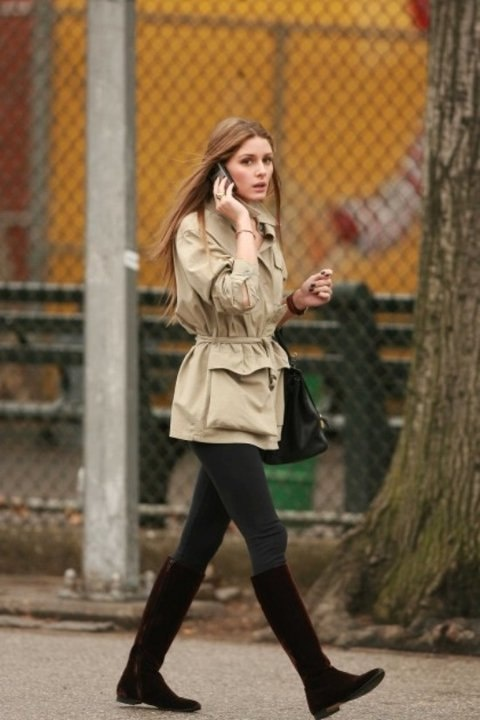 olivia palermo parka look fashion What To Wear This Winter? Is Parka The It Coat Of 2012/2013?