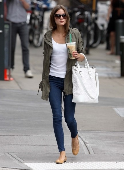 olivia palermo parka style look What To Wear This Winter? Is Parka The It Coat Of 2012/2013?