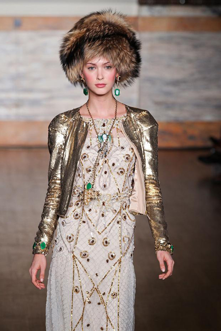 Russian Fashion Trend - Temperley London 2012/2013 Fall-Winter collection