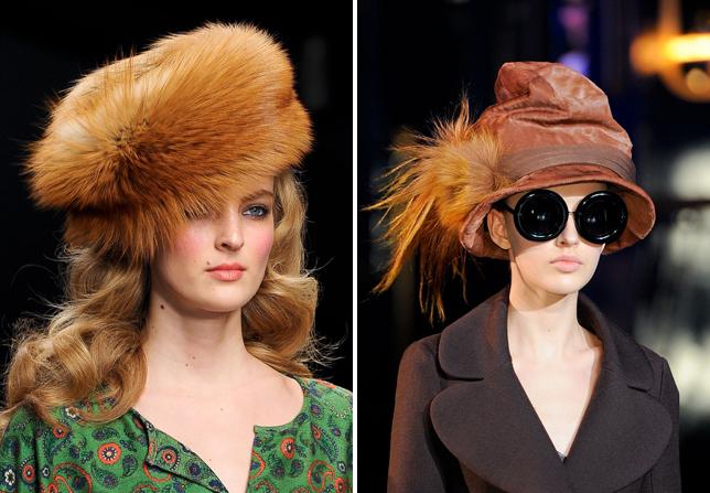 Russian fashion trend - Winter 2013, fur hats