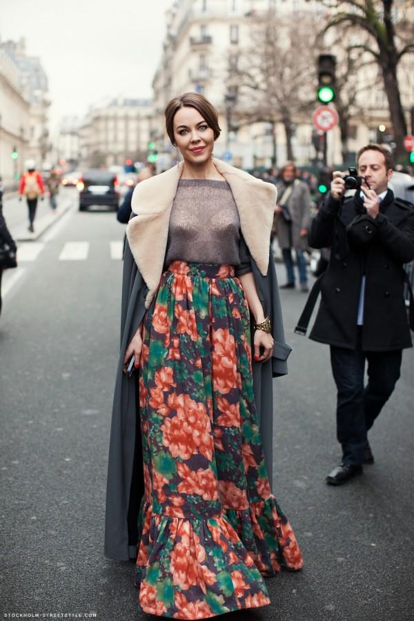 Russian fashion trend - street style, via thebestfashionblog.com