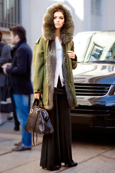 Parka Styles & Looks - 2013 Winter