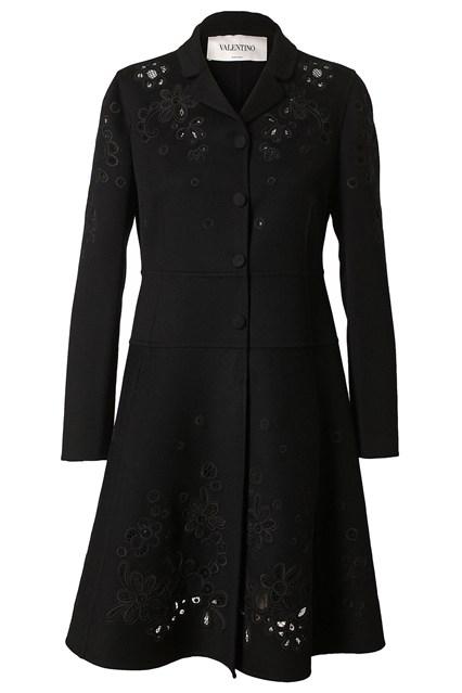 Valentino coat - Anna Karenina Inspired look via Vogue