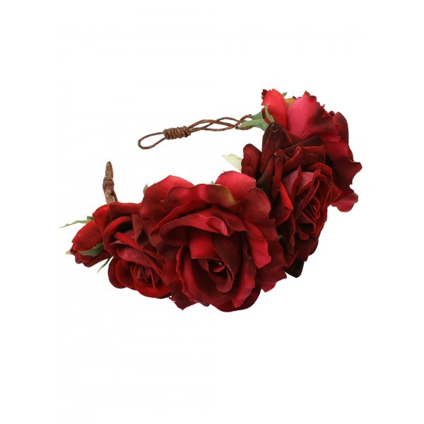 Beatrice Oversized Floral Crown Headband; £38.00 from rocknrose.co.uk