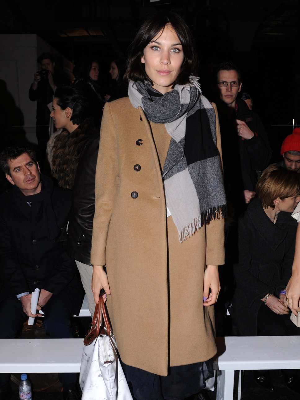 alexa chung coat Coat Styles For Winter 2013! What To Wear?